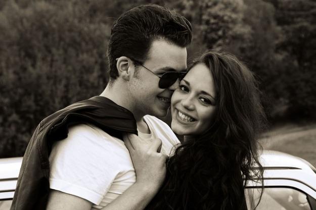 Onnellinen pari